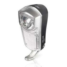 XLC Lampe avant LED - Éclairage vélo - 35 Lux noir/transparent